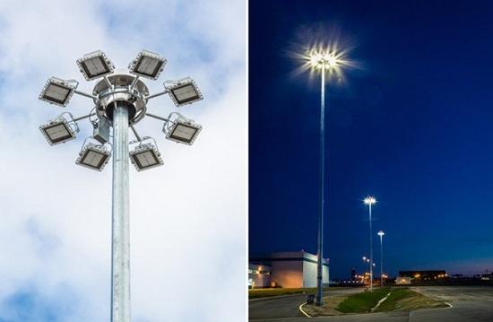 Hệ thống đèn LED chiếu sáng cảng hàng không