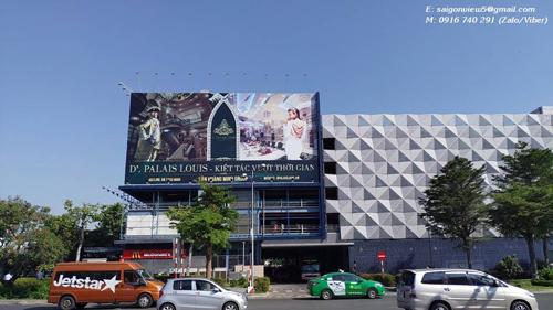 Pano quảng cáo ngoài trời sân bay Tân Sơn Nhất