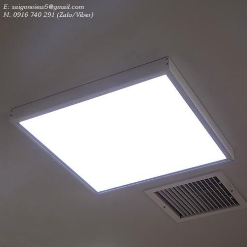đèn led panel lắp nổi 595x595 40w