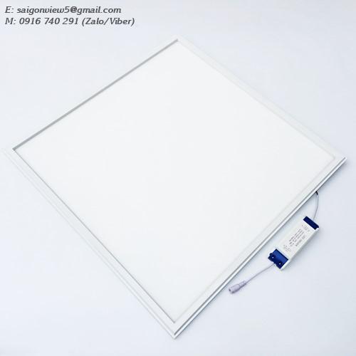 đèn led panel 600x600 40w âm trần